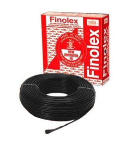 Finolex 10307 6 Sq.Mm 31 A 90 M Flame Retardant Cable Black