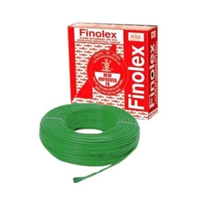 Finolex 10307 6 Sq.Mm 31 A 90 M Flame Retardant Cable Green