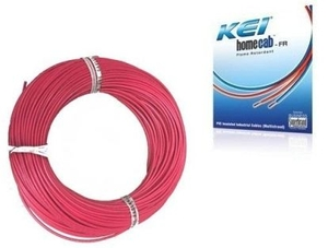 Kei 1.5 Sq.Mm (Length 180 M) Fr Pvc Insulated Cable Red