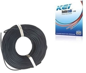 Kei 2.5 Sq.Mm (Length 180 M) Fr Pvc Insulated Cable Black