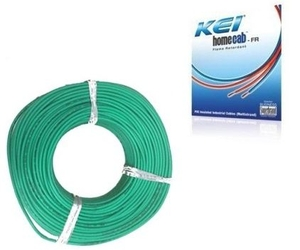 Kei 6 Sq.Mm (Length 180 M) Fr Pvc Insulated Cable Green