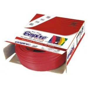 Empire 18 A (Length 90 M) Fr Pvc Insulated Cable Red