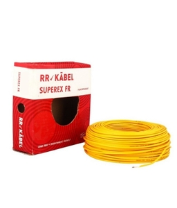 Rr Kabel 1.5 Sq.Mm (Length 200 M) Fr Pvc Insulated Cable Yellow