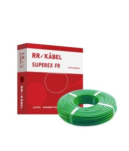 Rr Kabel 1 Sq.Mm (Length 200 M) Fr Pvc Insulated Cable Green