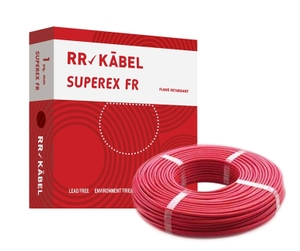 Rr Kabel 2.5 Sq.Mm (Length 200 M) Fr Pvc Insulated Cable Red