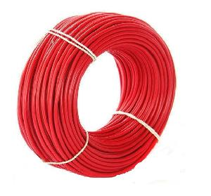 Havells Life Line Plus 4 Sq. Mm Hrfr Pvc Insulated Flexible Cable Red 90 M