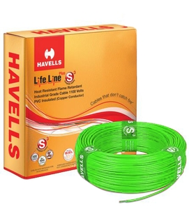 Havells Pvc Insulated Flexible Cable Single Core 100 M 10 Sq.Mm