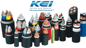 Kei 95 Sq. Mm 1 Core Copper Unarmoured Power Cable 2xy