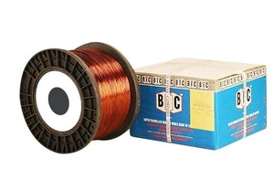 Bic Polyster Coated Enamelled Round Winding Wire 39 Swg 0.2 Mm