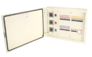 Indo Asian 4 Way Phase Selector Db 40a Double Door  Distribution Boards 811940