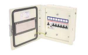 Indo Asian 8 Ways Acryclic Door Distribution Boards  811818