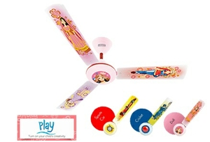 Luminous Tcfoe48f34400 Play Doll Ceiling Fan