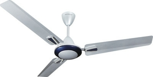 Havells Vogue Plus 1200 Mm 3 Blades Silver Blue Ceiling Fan Fhcvoplsbl48