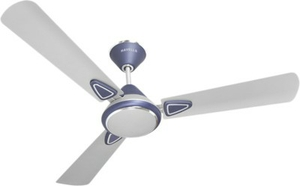Havells Fusion Beige Brown 900 Mm 3 Blades Blue White Ceiling Fan Fhcfustbbr48