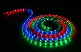 Noble Electricals Ne/Smd Fl-3 (14.4 W) Rgb Led Strip Light - Ip 65 (Chip Size 5050)