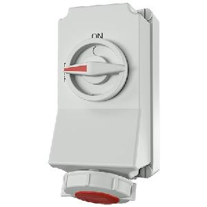 Mennekes 5600 Wall Mounted Receptacle (3 Poles + Earthing 16a)