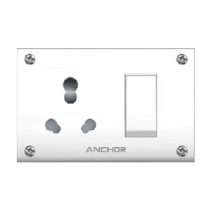 Anchor Penta Ivory Ss Combined With 4 Fixing Holes 50969 (240v)