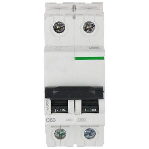 Bentex 63 Amp Modular Circuit Breakers Xc60 2 Pole