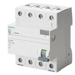 Siemens 5sv Betagard Rccb Applicable In Networks With Ac And Pulsating Dc Residual Currents 5sv36176rc