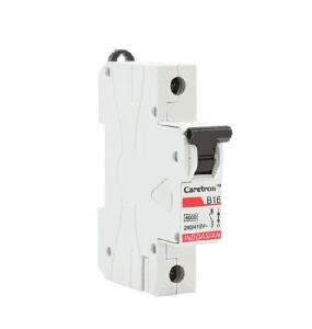 Indo Asian 1 Pole 10a Class 3 B-Curve Miniature Circuit Breakers (Mcb) 811010