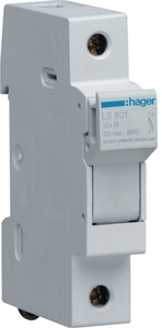 Hager Ls501 Fuse Carrier (Current 32a - 690 Voltage)