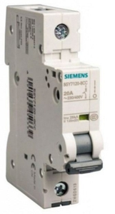 Siemens 5sy71018cc 1 A 5sy7 Betagard Miniature Circuit Breakers