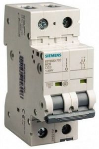 Siemens 5sy72018cc 1 A 5sy7 Betagard Miniature Circuit Breakers