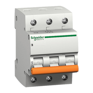 Schneider Nbkra103pc02a Modular Circuit Breakers (3 Pole C Type 2 A)