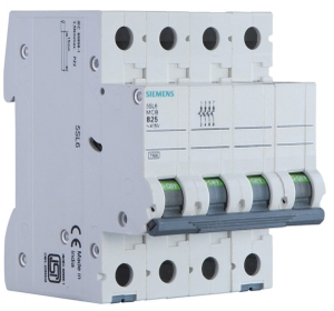 Siemens 5sl44637rc 63 A Four Pole Mcb