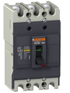 Schneider Ezc100h3032 Thermal Magnetic Trip 3 Pole Molded Case Circuit Breaker Mccb