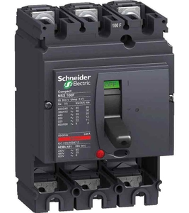 Schneider Lv510334 Thermal Magnetic Trip 3 Pole Molded Case Circuit Breaker Mccb