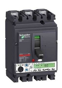 Schneider Lv430834 3 Pole Molded Case Circuit Breaker Mccb (Rated Current 150 A)