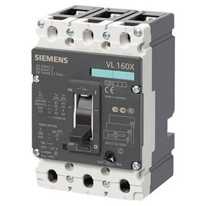 Siemens 3vl2716 - 1dk36 - 0aa0 3 Pole Molded Case Circuit Breaker Mccb (Rated Current 160 A)