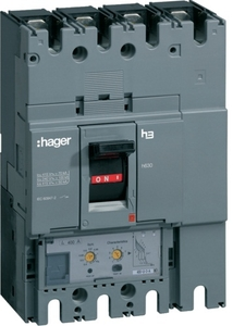 Hager Hnb101u Thermal Magnetic Release 4 Pole Molded Case Circuit Breaker Mccb (Rated Current 100 A)