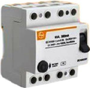 L&T Bg410010 100 A 100 Ma Residual Current Circuit Breaker