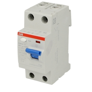 Abb 63 A Two Pole Residual Current Circuit Breaker - 1syf202006r1630