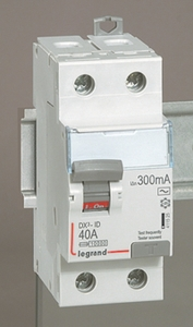 Legrand 2 Pole Residual Current Circuit Breaker (Rated Current- 25 A)