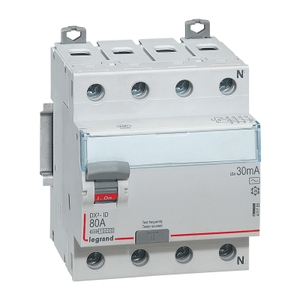 Legrand 4 Pole Residual Current Circuit Breaker (Rated Current- 16 A)