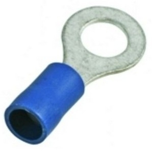 Dowells Rsi-7077 Insulated Ring Terminal (Conductor Size - 2.5-8)