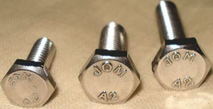 Jom Stainless Steel Hex Bolts ( Dia 3/8 Mm - Length 1/2 Mm)