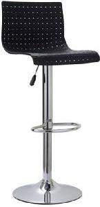 Mbtc Meshot Natural Fiber Finish Bar Stool Black