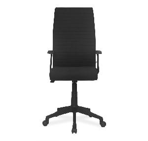 Nilkamal Thames High Back Black Fabric Chair (Flomhfabpsht708blk)