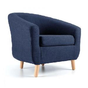 Furniturestyle Elmo - Blue Modern Arm Chair Fs Tp Ach 001