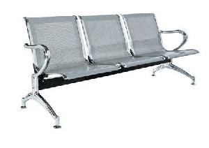 Exclusive Furniture Multi Seat Bench In Silver Shade B3sscm