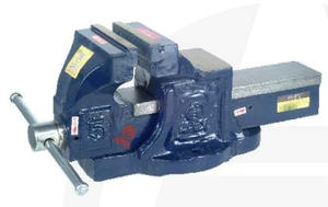 Apex 741 Mechanic's Bench Vice ( Fixed Base ) (Jaw Width 200 Mm , Weight 40 Kg)