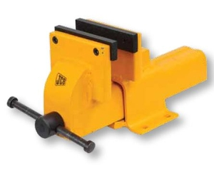 Jcb Ebv/F/150/Ye1 Engineer's Bench Vice With Fixed Base (Jaw Width 150 Mm , Weight 14 Kg)