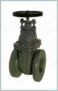 Leader Cast Iron Gate Valve 100 Mm Class 125