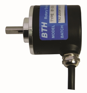 Bth Bi-52s-1800-Pu Shaft Type Incremental Rotary Encoder (Resolution: 1800 Pulse Per Revolution)
