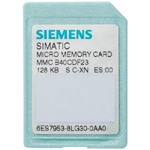 Siemens 512 Kb Flash-Eprom Memory Card 6es79538lj310aa0