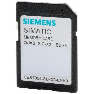 Siemens 24 Mb Flash-Eprom Memory Card 6es79548lf030aa0